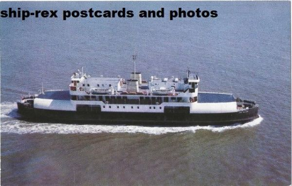 LORD SELKIRK (Northumberland Ferries) postcard (a1)